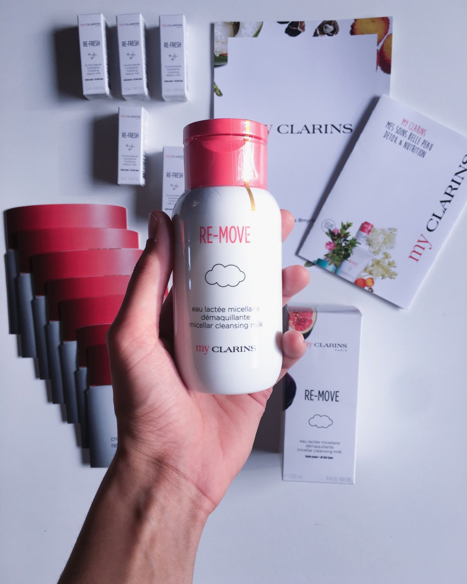 my clarins eau lactee micellaire